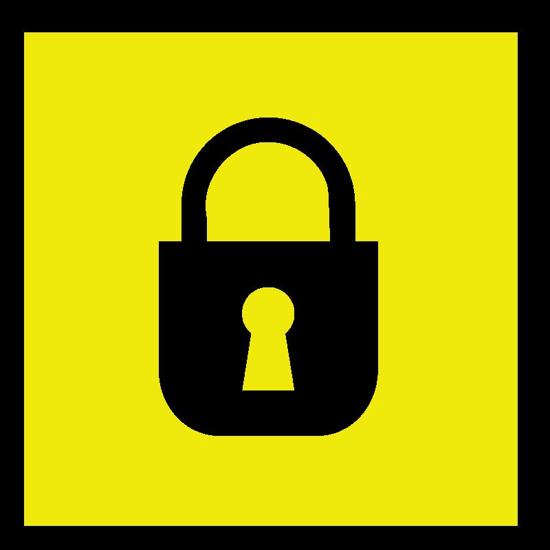 Free padlock square