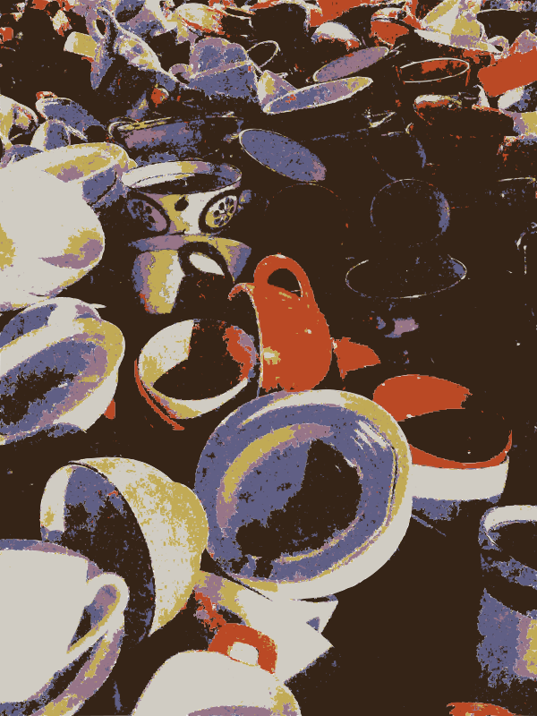 Free Clipart: A pile of cups | rejon