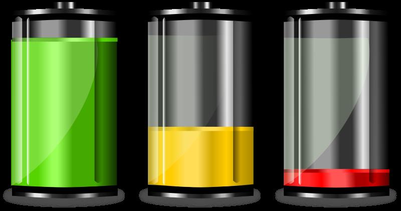 Free Battery levels. Niveles de batería