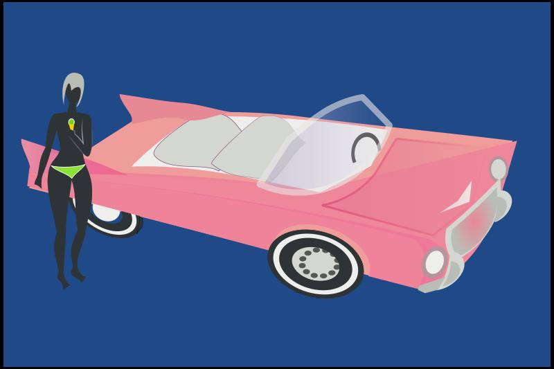Free pink cadillac