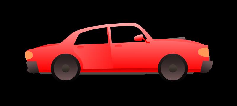 Free red car