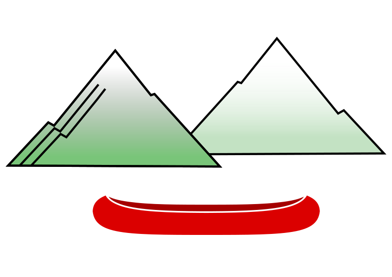 Free Canoe with Mountains