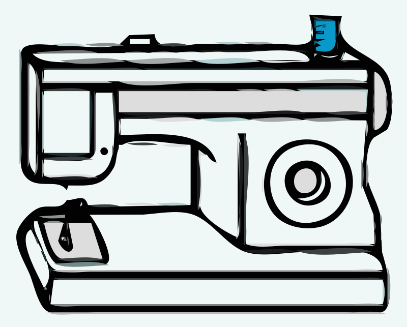 Free Clipart Sewing Machine DerseDreamer Simple Animated Sewing Machine