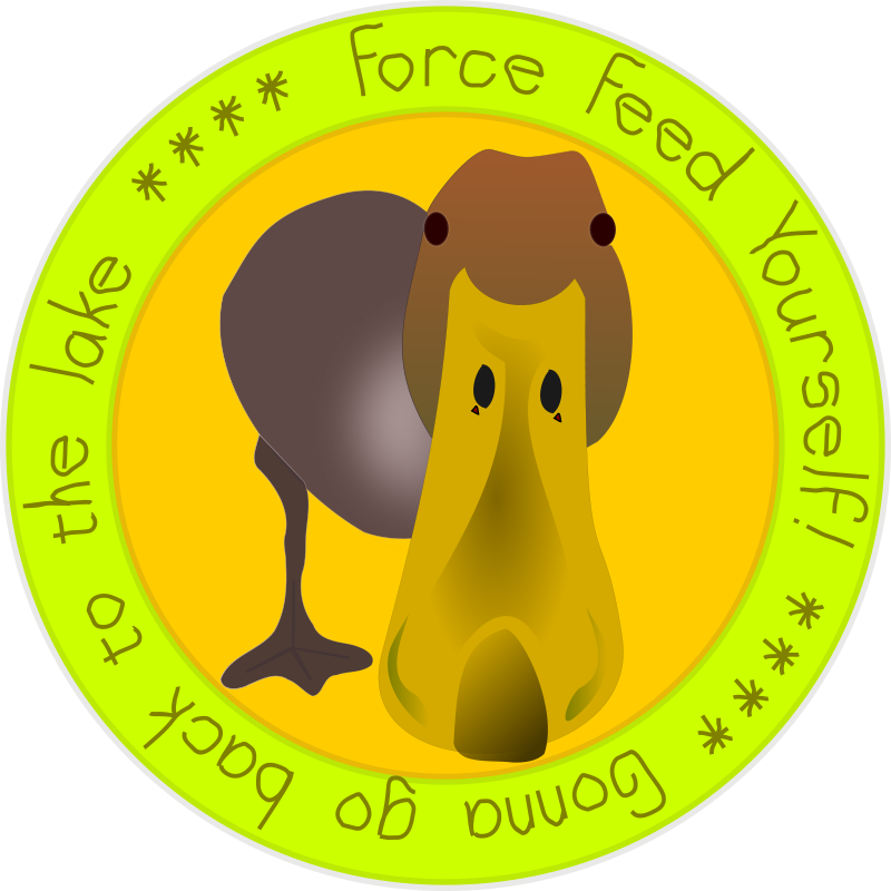 Free FORCE FEED YOURSELF -- Patch