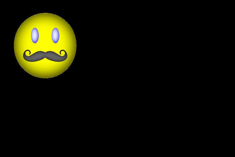 Free Happy Face Mustache