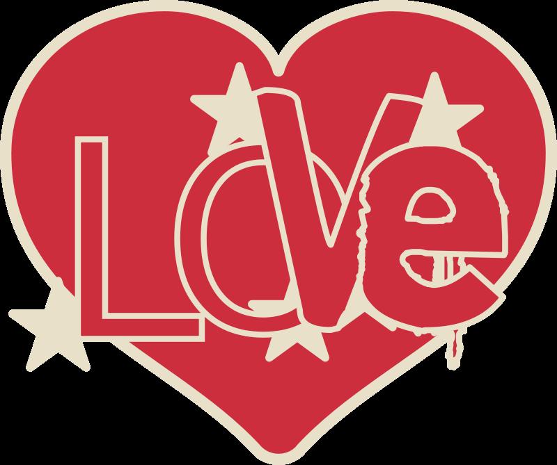 Free Clipart: Love heart | MLBPROD