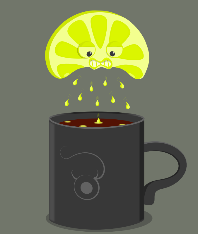 Free Clipart: Angry lime | AhNinniah