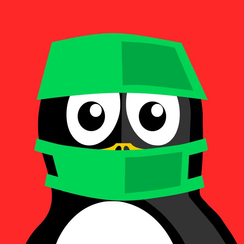 Free surgeon penguin