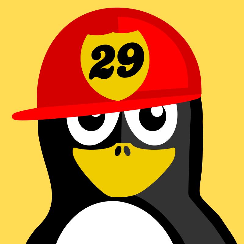 Free fireman penguin