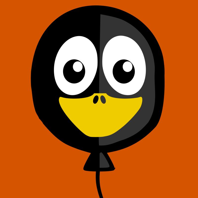 Free balloon penguin