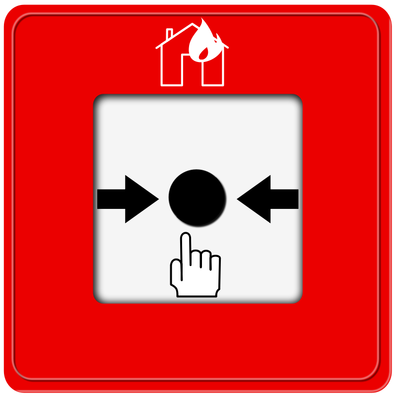 Free Fire Alarm Pushbutton