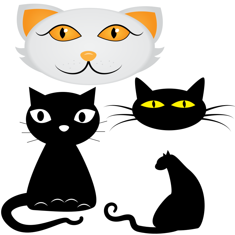 Free Collection of cat illustrations