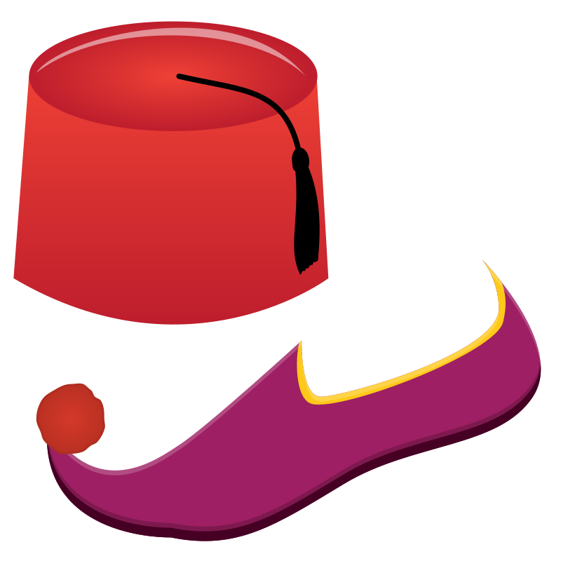Free Fez and Turkish Shoe