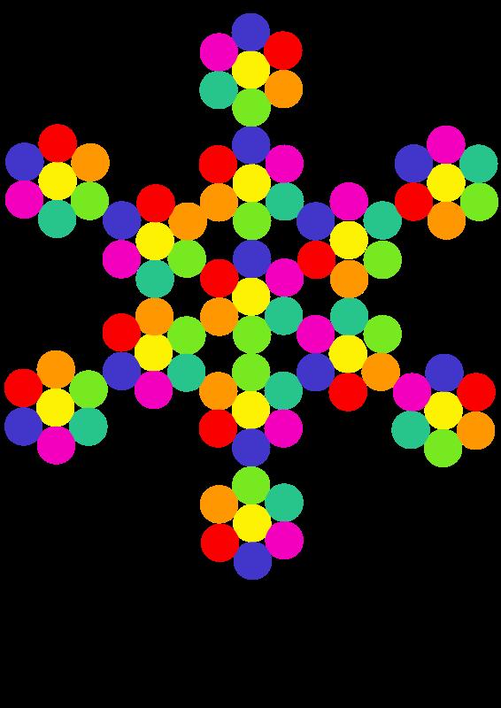 Free aiflowers snowflake
