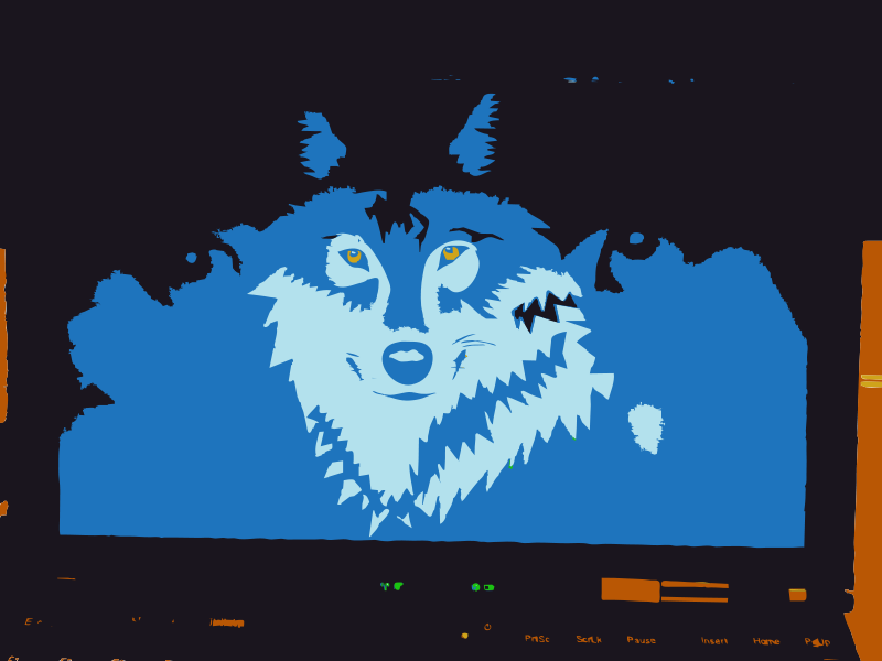 Free Wolf remix from camera to vector