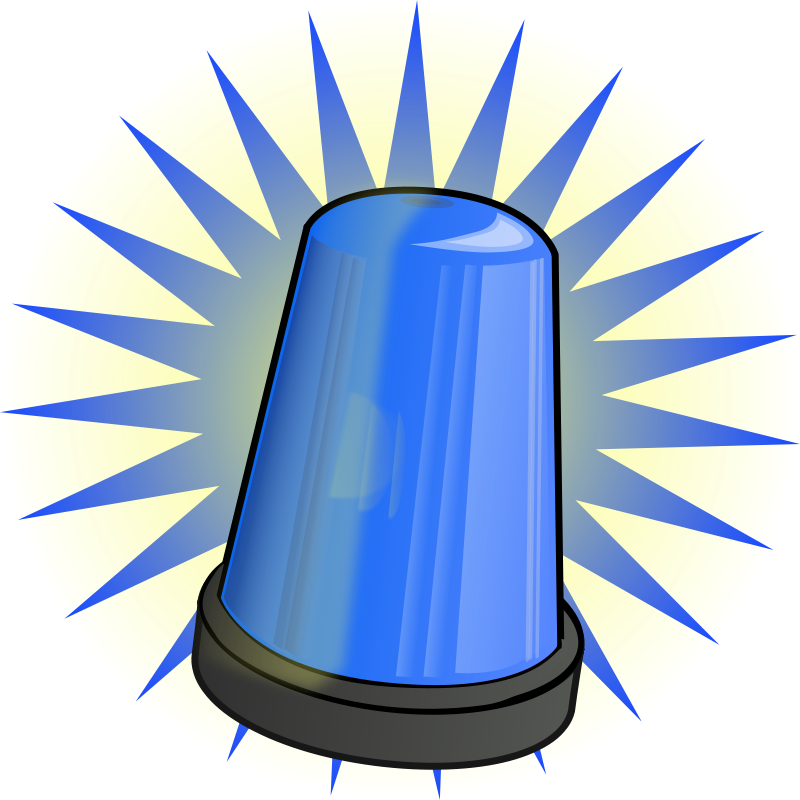 Free Blue signal light