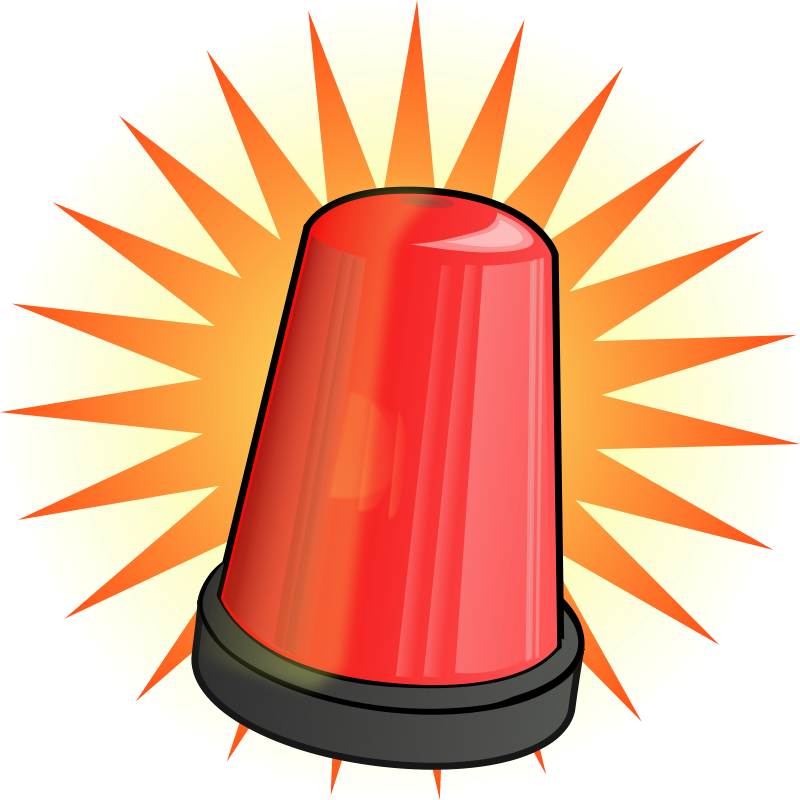 Free Red signal light