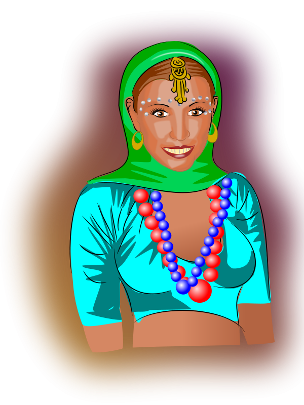 Free Clipart: Amina | bedpanner