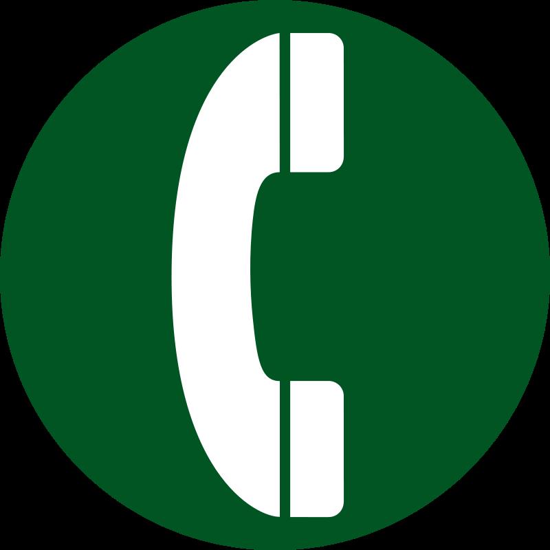 Free aiga telephone bg green