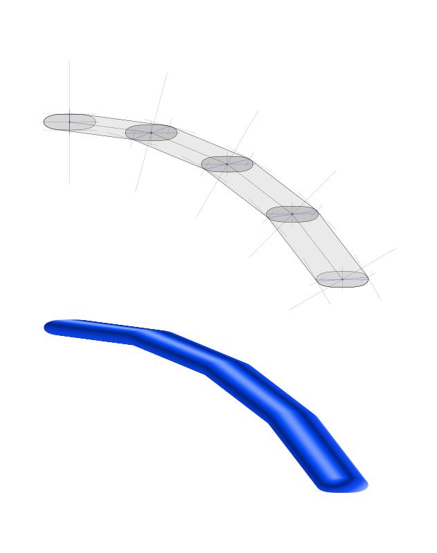 Free Clipart: Calligraphed stroke | Lazur URH