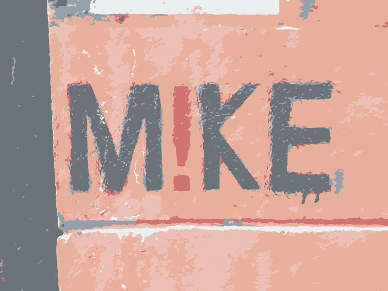 Free Graffiti Mike sign