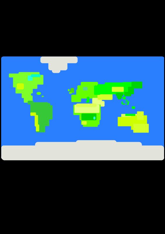 Free earths map