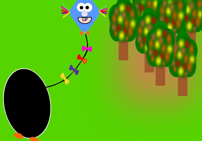 Free Clipart: Penguin in the autumn | Andulka1