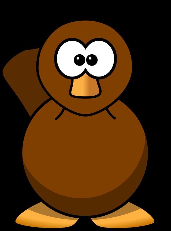 Free Cartoon Platypus