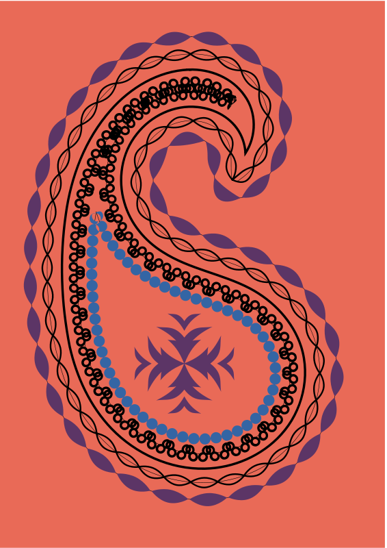 Free indian motif