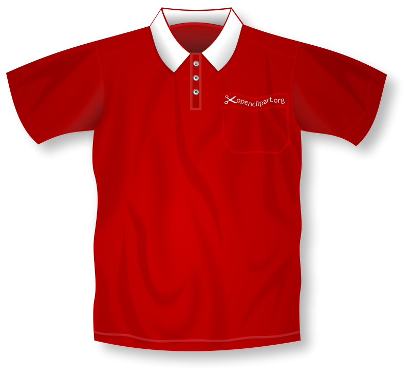 Free Red Polo Shirt