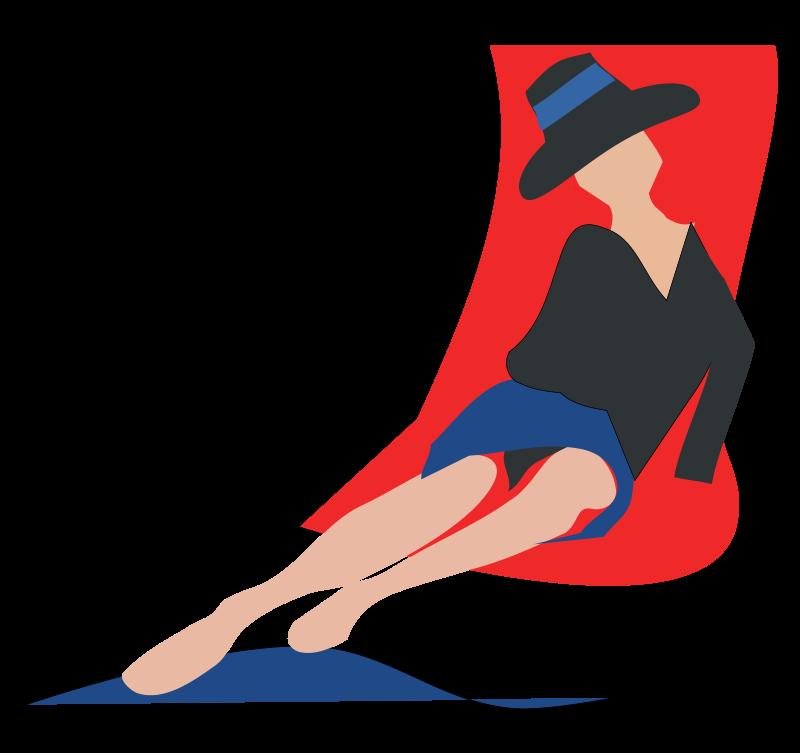 Free deckchair