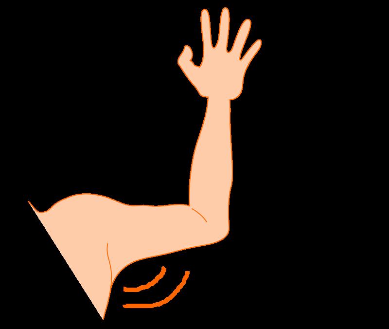 Free arm pit