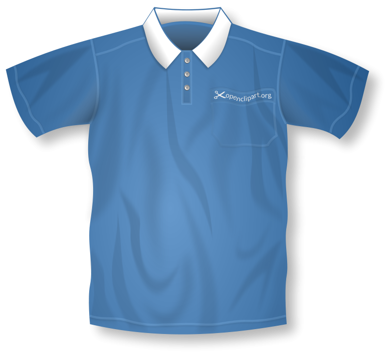 Free Blue Polo Shirt Remix