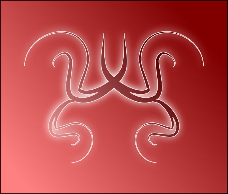Free Red swirls