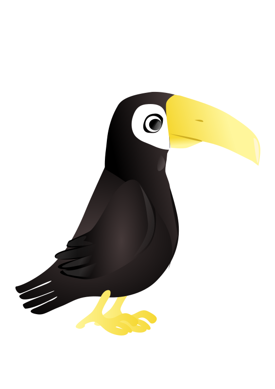 Free Simple Toucan