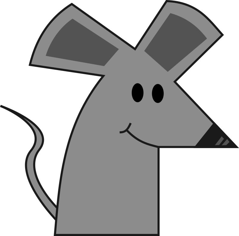 Free Cute Smiling Cartoon Mouse