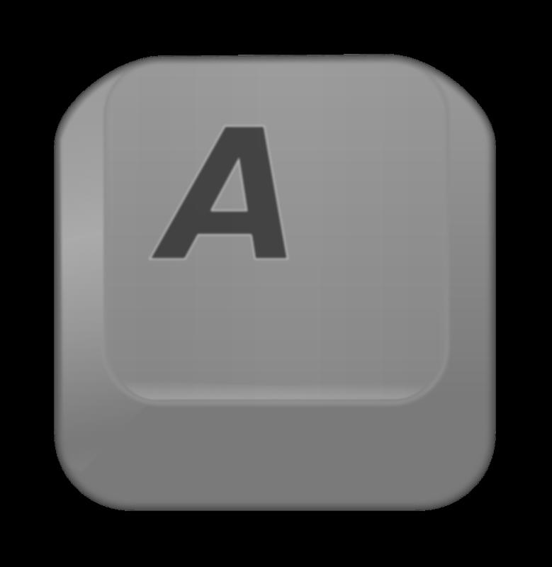 Free Clipart: Key A | Fabuio