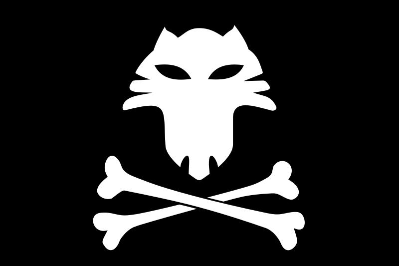 Free Jolly Roger Cat