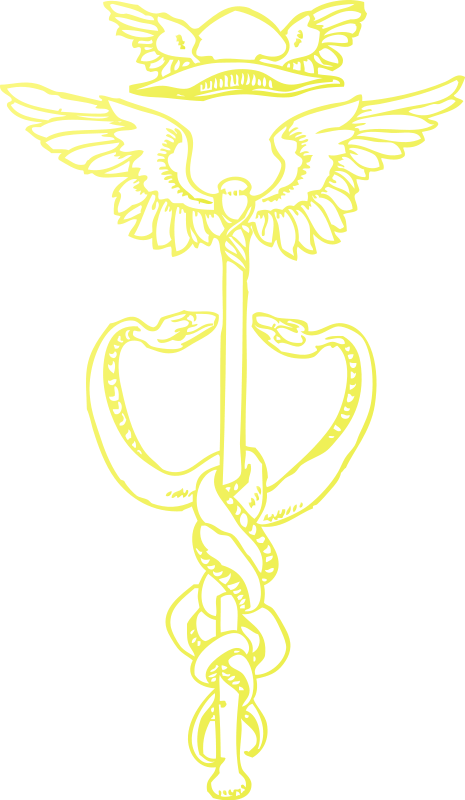 Free Golden Caduceus