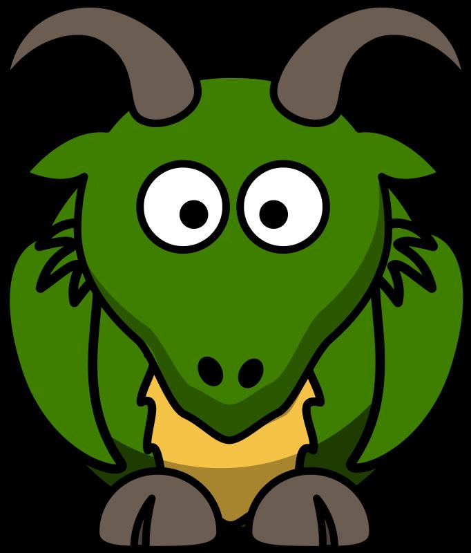Free Cartoon Dragon