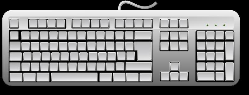 Free Blank Generic Keyboard
