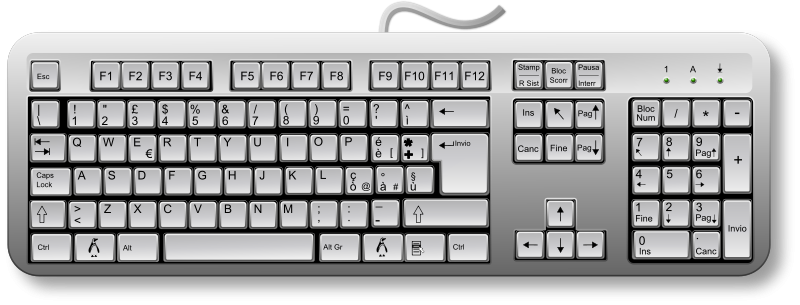 Free Linux Keyboard Remix