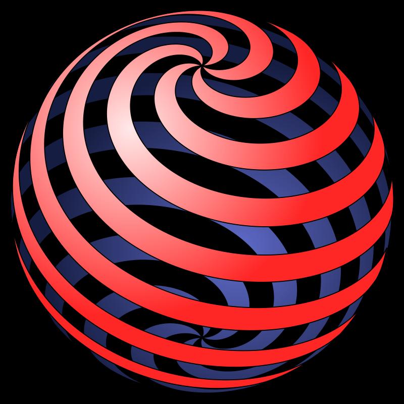 Free spiral ball