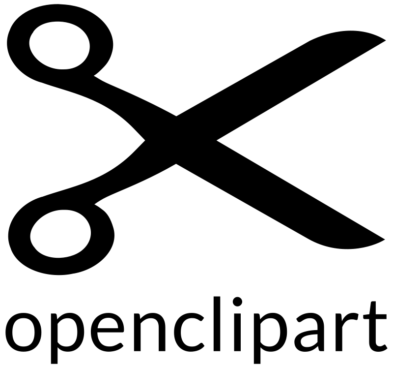 Free Openclipart Big Scissors Logo