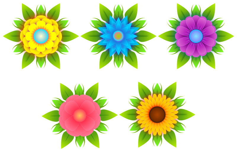 Free Clipart: Flowers | Viscious-Speed