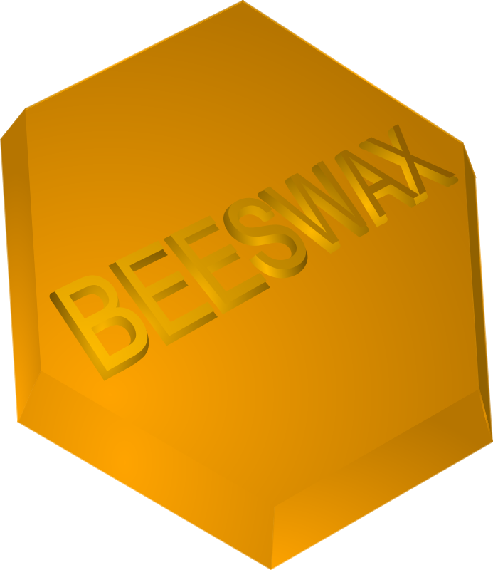 Free Clipart Beeswax Block