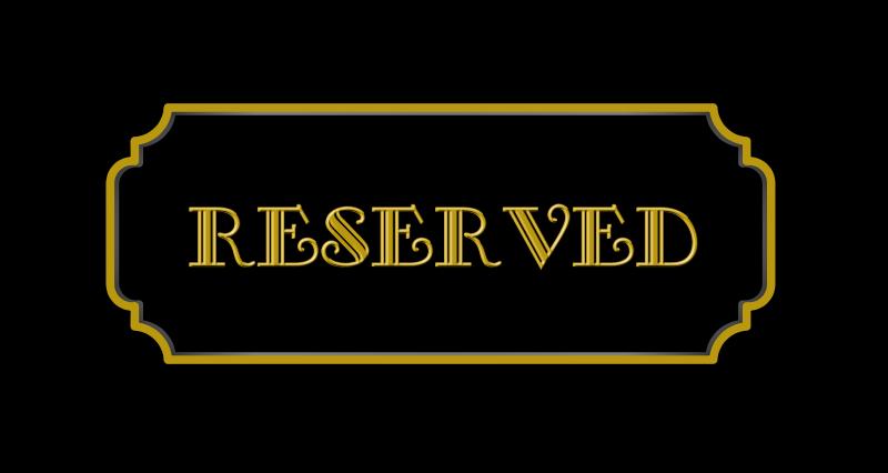 Free Reserved black
