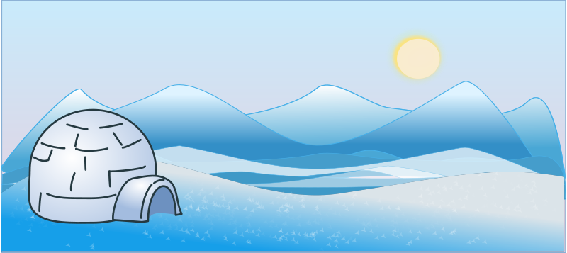 Free Ice-scape