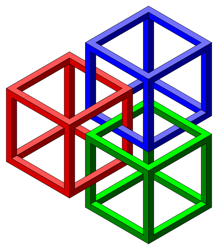 Free Impossible cubes