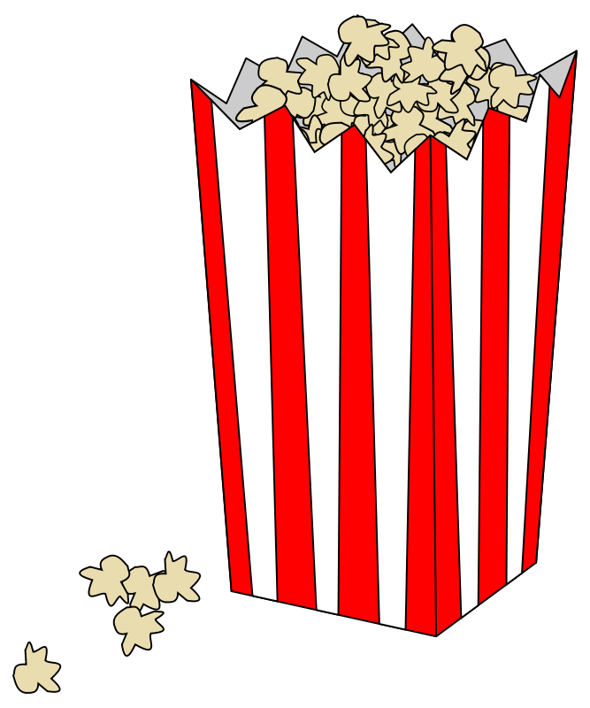 Free Movie Popcorn Bag